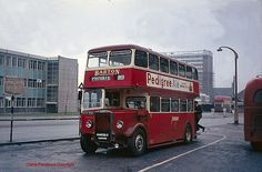 Bus preservation in the 1960s by Lady Wulfrun, via Flickr Nottingham City, Routemaster, Old Commercials, Bus Coach, London Transport, Busses, Old Cars, Britain, Transportation