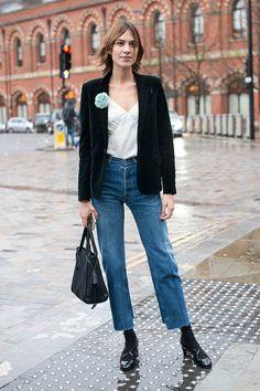 Неделя моды в Лондоне, осень-зима 2016: street style. Часть 1 (фото 2)