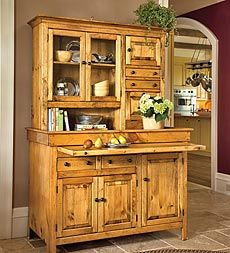 Lovely, functional country hutch ~