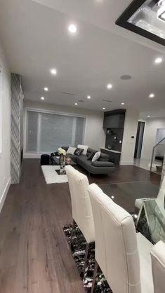 Kitchen Room Design, Home Room Design, Dream Home Design, Modern Kitchen Design, Modern House Design, Interior Design Kitchen, Living Room Designs, Casa Top, Home Building Design