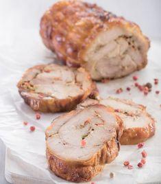 Самый вкусный и простой куриный рулет: 10 минут готовки и пальчики оближете! Turkey Dishes, Salmon Burgers, Food Photo, Vegetable Recipes, Baked Potato, Camembert Cheese, Mashed Potatoes, Recipies, Muffin