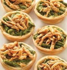 Green Bean Casserole Quiche Bites – Thanksgiving side dish recipe from ALDI.