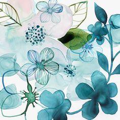 Margaret Berg Art: Water+Blossoms+III