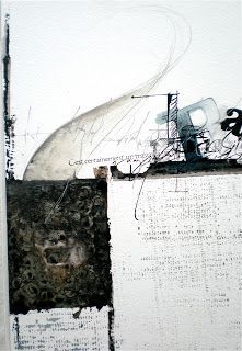 Stéphanie Devaux Textus ~ playing with textures and ink. Tachisme, Mix Media, Creation Art, Writing Art, Black And White Painting, Art Sculpture, Art Abstrait, Letter Art, Textile Artists