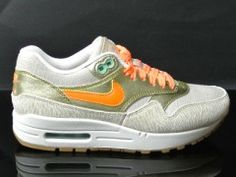 Nike WMNS Air Max 1 Premium Birch/Bright Citrus-Metallic Gold-Sail