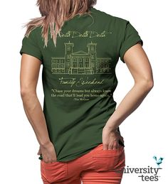 Perfect shirts to celebrate #TriDelta Family Weekend! #DDD #Sorority | Made by University Tees | www.universitytees.com