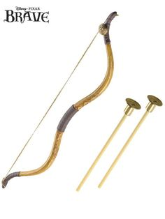 Check out Disney Pixar's Brave Bow & Arrow - Disney Princess Weapons from Wholesale Halloween Costumes