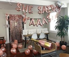 Bachelorette Party Decorations Pop the Bubbly Events setting up for a bachelorette party in Charleston, SC. Have your AirBnB or Hotel Room decorated for your upcoming weekend in the Lowcountry! Bachlorette Party, Hotel Bachelorette Party, Bachelorette Weekend, Bachelorette Gift Bags, Hen Party Decorations, Bachelorette Party Decorations, Party Favors, Party Games, Hotel Party