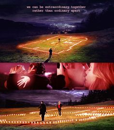 """""""We can be extraordinary together rather than ordinary apart."""" Meredith to Derek; Candle House; Season 4 finale. Grey's Anatomy quotes"""