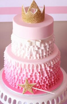 Gorgeous Pink and Gold Pinkalicious Party | A Blissful Nest