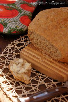 moje pasje: Chleb orkiszowy ze słonecznikiem i prażonymi płatkami owsianymi