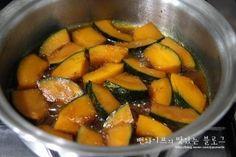 입에 살살 녹는 견과류 단호박조림 : 네이버 블로그 Vegan Recipes, Cooking Recipes, Pot Roast, Sweet Potato, Brunch, Food And Drink, Potatoes, Fruit, Vegetables