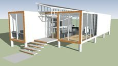 3D Model of container house