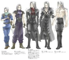 It's weird to think about Sephiroth not being a 1st. It reminds you that at one point, he was human.