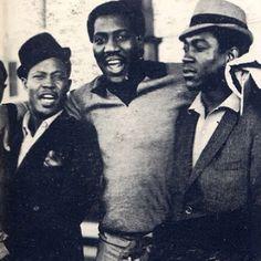 Otis Redding and Sam and Dave.