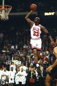 Michael Jordan: Gliding