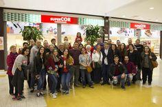 Los protagonistas del Flashmob más romantico Shopping Center, Valentines, Girlfriends, Couples
