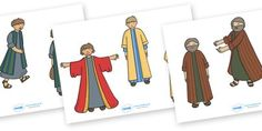 The Prodigal Son Story Cut Outs