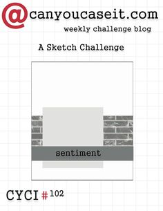 territerbear's stamp & scrap spot: CYCI#102 A Sketch Challenge