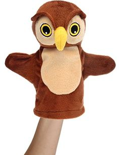 The Puppet Company - My First Puppet - Owl Hand Puppet The Puppet Company http://www.amazon.co.uk/dp/B000T4UUYS/ref=cm_sw_r_pi_dp_pMrKwb0SBWPH8