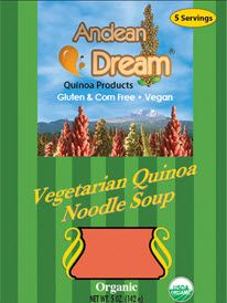 Dry soup mix with 21 essential amino acids and 15 grams of protein. Makes 5 cups of soup. Quinoa Noodles, Quinoa Soup, Allergy Free Recipes, Gourmet Recipes, Snack Recipes, Dry Soup Mix, Soup Mixes, Cup Of Soup, Processed Sugar