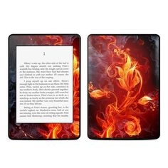 DecalGirl Decorative Skin/Decal for Kindle Paperwhite - Flower of Fire by DecalGirl. $16.99