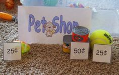 Pet Shop in a Box ~ Creative Family Fun with printables!