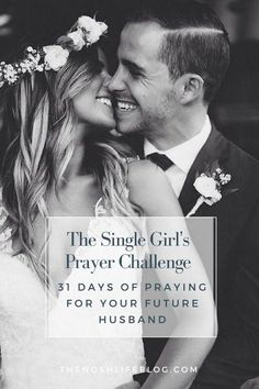 Several years ago, I found the 31 Days of Praying for Your Husband challenge on a blog that Ifollowed.As I was reading through the post it occurred to me, even though I did not have a husband, I should be praying for my future spouse. I could take the thirty-one day challenge and pray for...Read the Post