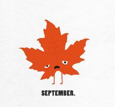 Jamie Gandee: The Unhappy Calendar - September
