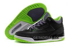 "cheaper 24561 cf009 Mens Air Jordan 3 Retro ""Joker"" Black Electric Green-Canyon Purple-White  For Sale Online TyiWS, Price   91.00 - Adidas Shoes,Adidas Nmd,Superstar, Originals"