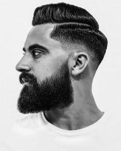 Bart-Styles , Popular 19 Views 30 Nisan 2018 Beard Styles , Popular 19 Views The beard trend is not over yet. Instead of all facial hair growing, it's Beard Styles For Men, Hair And Beard Styles, Bart Trend, Bart Styles, Growing A Full Beard, Growing Facial Hair, Comb Over Haircut, Stubble Beard, Thick Beard