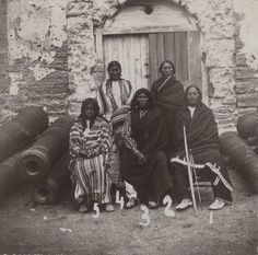 S.CHEYENNE PRISONERS AT FORT MARION (FLORIDA) , 1875