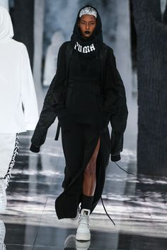 Rihanna's Fenty x Puma Show Will Have Everyone Dressing Like a Sporty Wednesday Addams