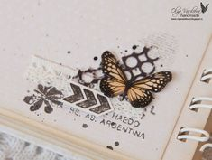 A vintage album for Scrapiniec Scrapbook Borders, Scrapbook Designs, Scrapbook Embellishments, Scrapbook Sketches, Scrapbook Page Layouts, Mini Albums, Mini Scrapbook Albums, My Scrapbook, Scrapbook Paper Crafts