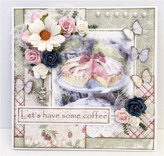 let's have coffee card by Malin Ellegaard