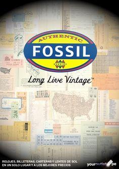Encuentre el mejor catálogo de #relojes, #billeteras, lentes de sol y #carteras #Fossil a los mejores precios en Youroutlet.pe.    También puede comprar desde nuestra página web. Enviamos a todo el #Perú.
