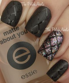 quilted nails - Google Search