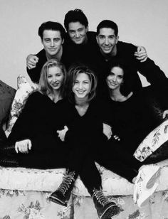 #FRIENDS Cast photos, the Ones You Ain't Never Seen! @brit @britandco
