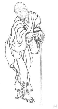 Portrait - Katsushika Hokusai