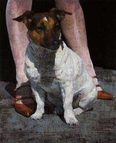 François BARD - oil on canvas