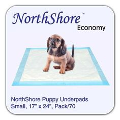 NorthShore Economy 17 x 24 6 oz Puppy Pads Small Pack70 ** To view further for this item, visit the image link.