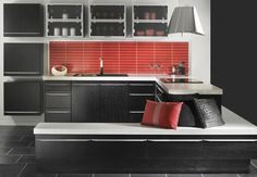 Kätevä välitilalevy Fibo Trespo. www.k-rauta.fi Kitchen Board, Kitchens, Kitchen Cabinets, Tips, Design, Home Decor, Asylum, Decoration Home, Room Decor