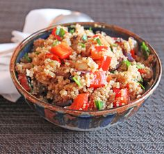 Quinoa Puttanesca by I'll Have What She's Having