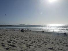 Carmel beach, Pacific Coast Highway in California #travel