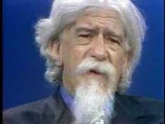 """Rabbi Abraham Joshua Heschel Interview Clips.  This holy man told me, when I was 16 years of age, """"Be true to your tradition."""""""