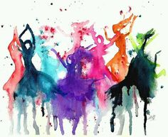 """""""Life is the dancer and you are the #dance."""" ~Eckhart Tolle #quote http://shar.es/pNudB #image"""