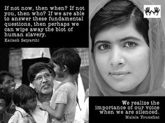 Youth Against Human Trafficking 23 hrs ·#NobelPrize #Peace  Spread by www.fairtrademarket.com supporting #fairtrade Kailash Satyarthi, Persecuted Church, Malala Yousafzai, Forced Labor, Wipe Away, Human Trafficking, Christian Inspiration, Then And Now, The Voice
