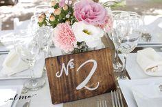 Centro de mesa + número