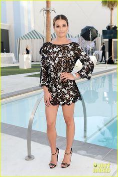 Lea Michele Hits Las Vegas For Leading Ladies Celebration