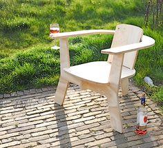 houten stoel / Rose chair design:micheltaanman   contact : micheltaanman1@mac.com  www.micheltaanman.nl by michel taanman decorbouw, via Flickr